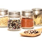 Spice Jars with Spoon